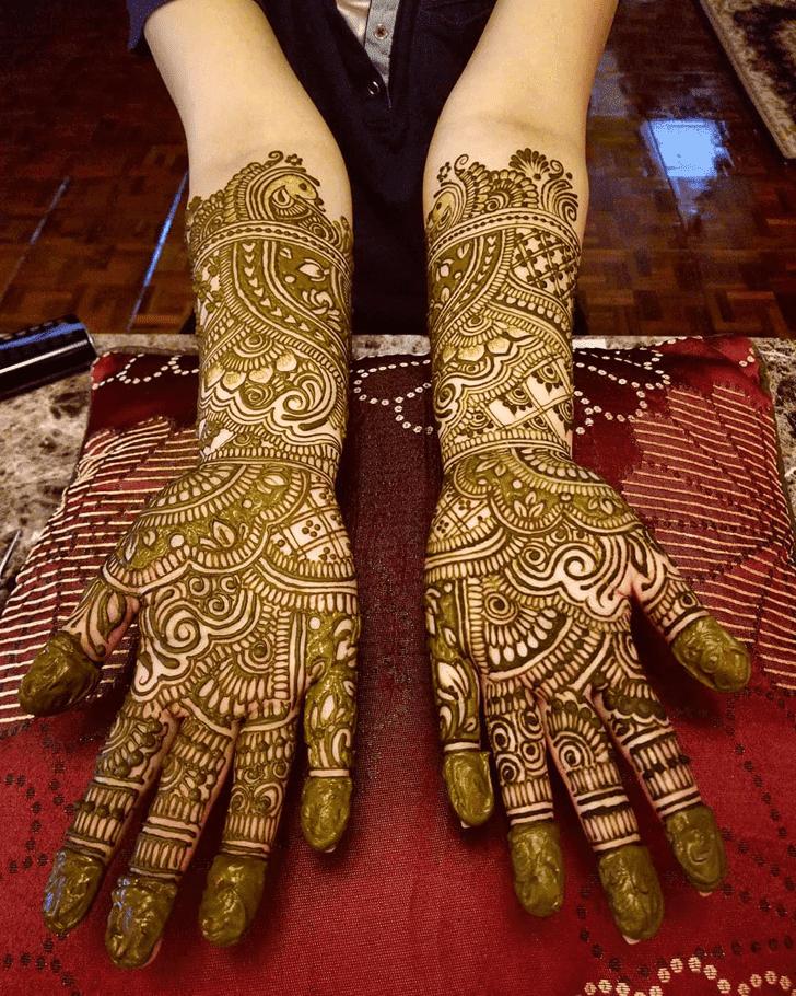 Fair Diwali Henna Design