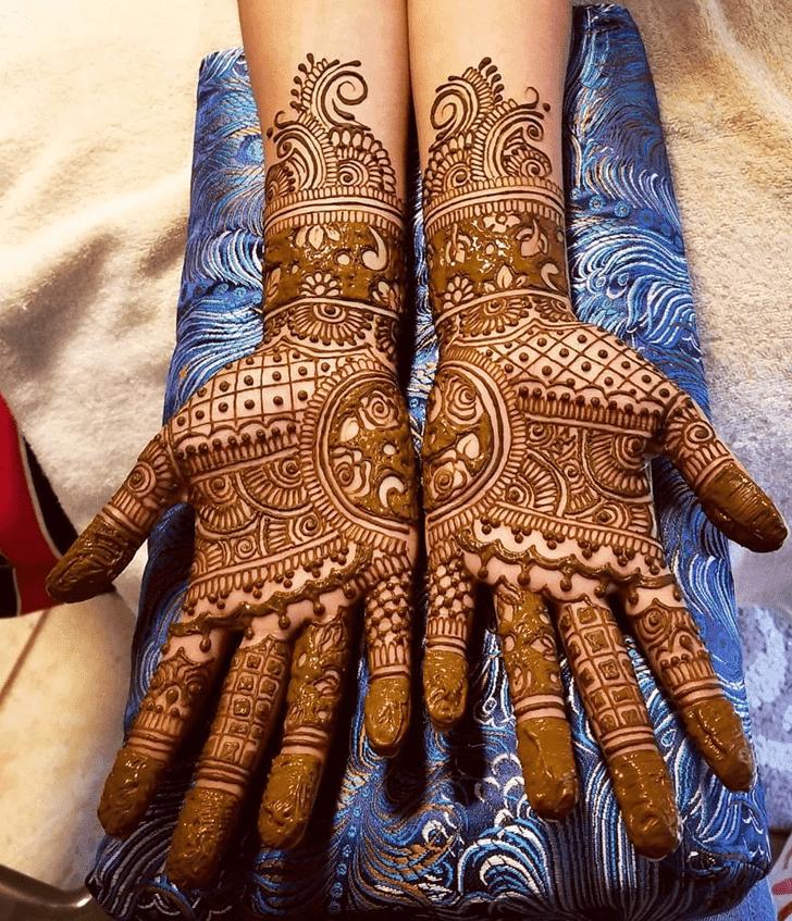Fascinating Diwali Henna Design