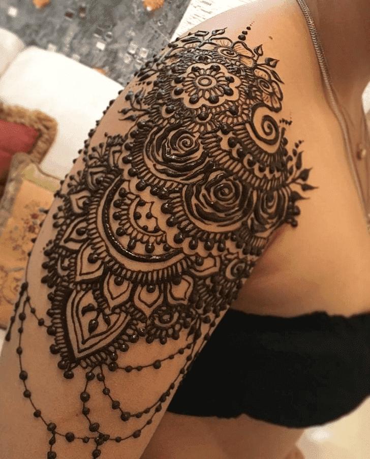 Gorgeous Diwali Henna Design