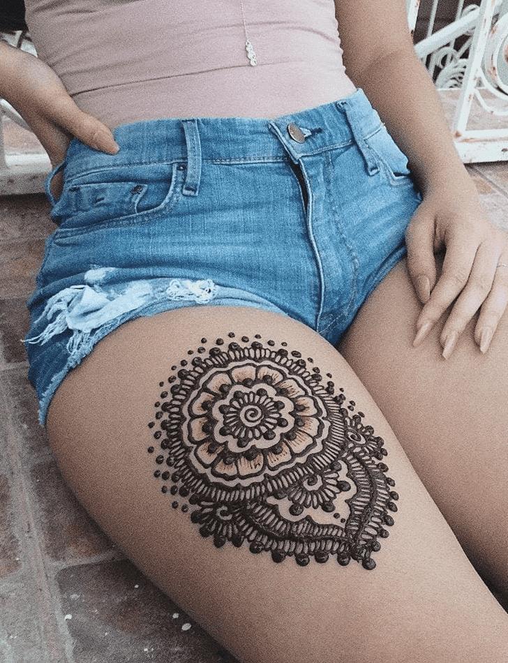 Grand Diwali Henna Design