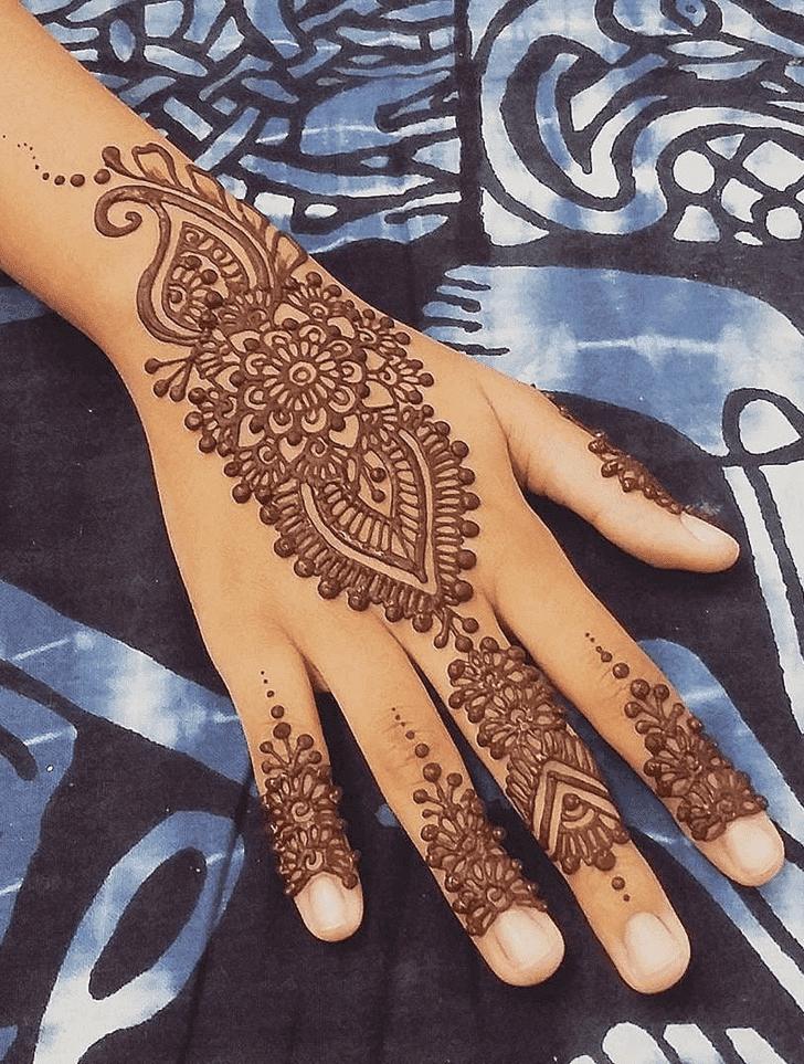 Ideal Diwali Henna Design