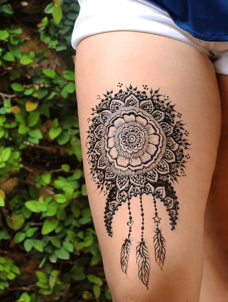 Lovely Diwali Henna Design