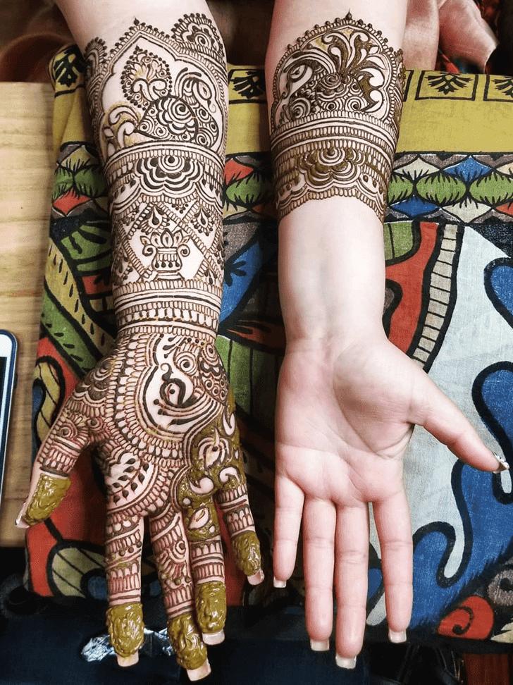 Magnificent Diwali Henna Design