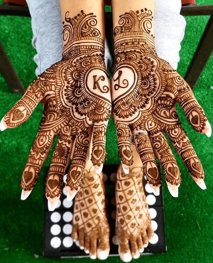 Marvelous Diwali Henna Design