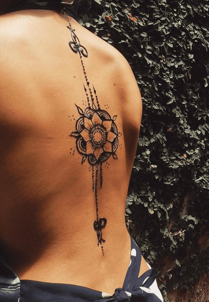 Nice Diwali Henna Design