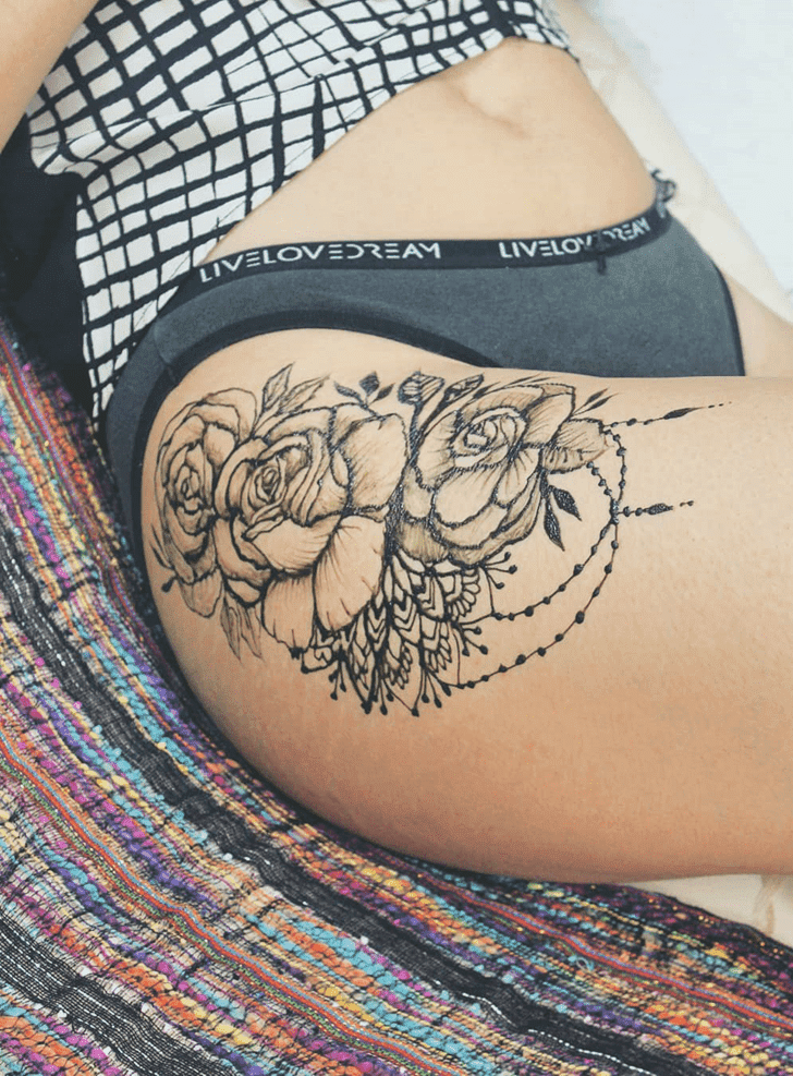 Pulchritudinous Diwali Henna Design