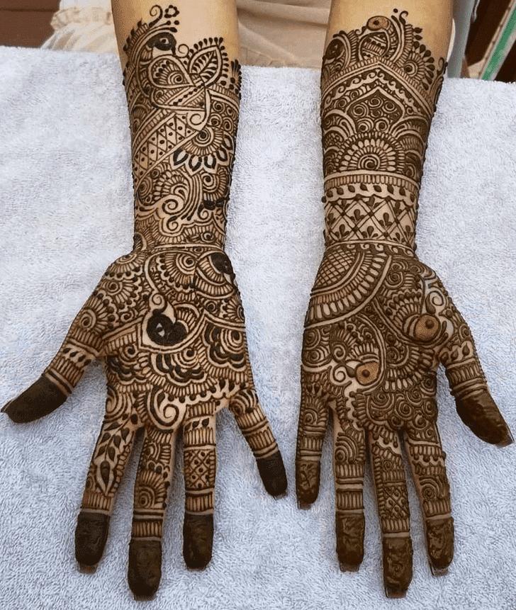 Splendid Diwali Henna Design