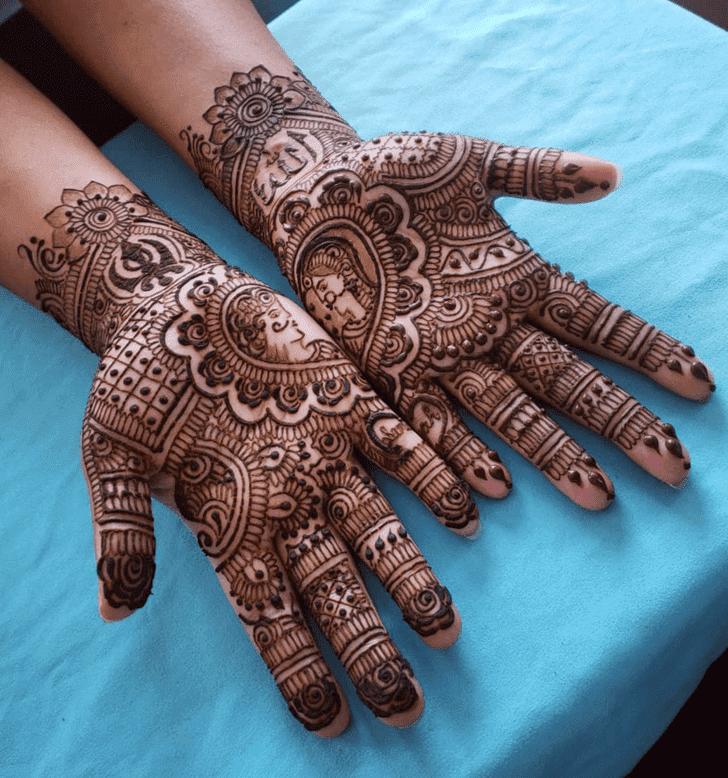 Sublime Diwali Henna Design