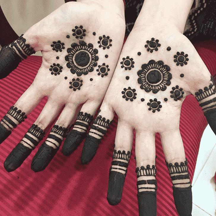 Alluring Dot Henna Design
