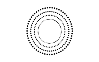 Dot Mehndi Design
