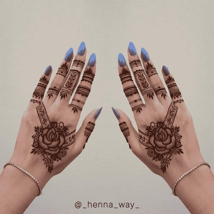Appealing Dubai Henna Design