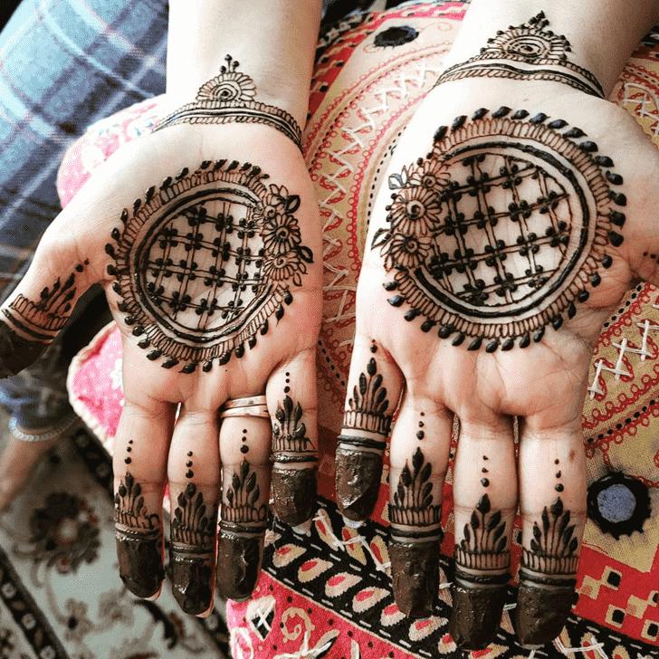Arm Dulhan Henna Design
