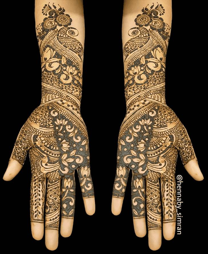Dazzling Dulhan Henna Design