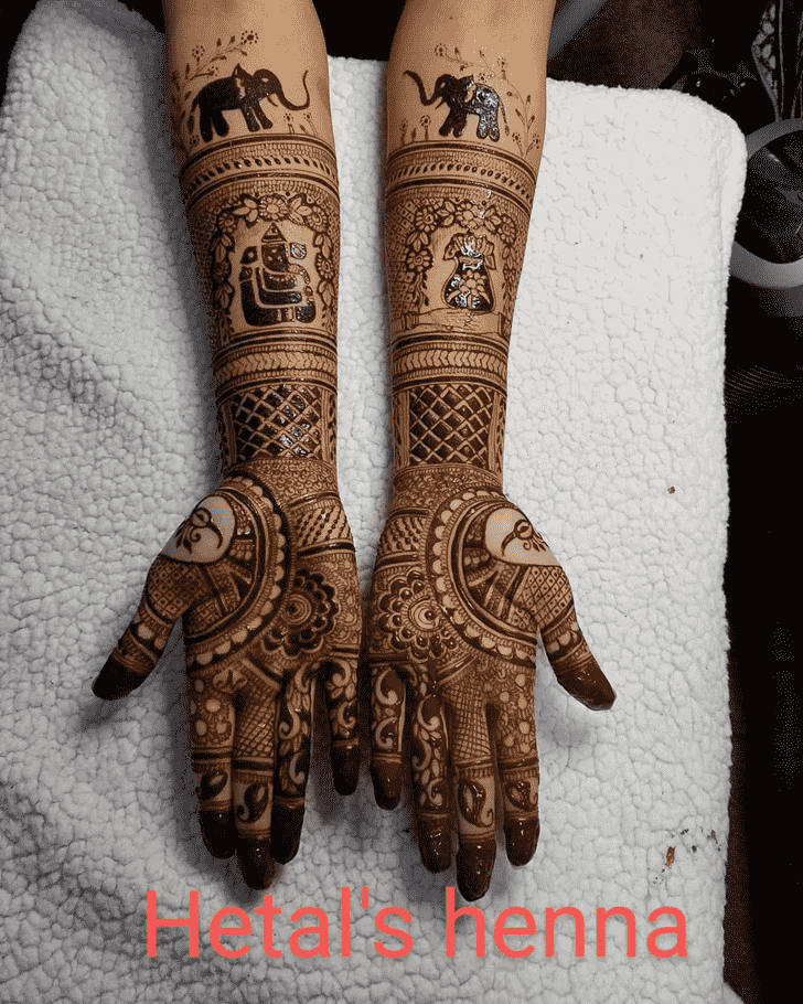 Excellent Dulhan Henna Design