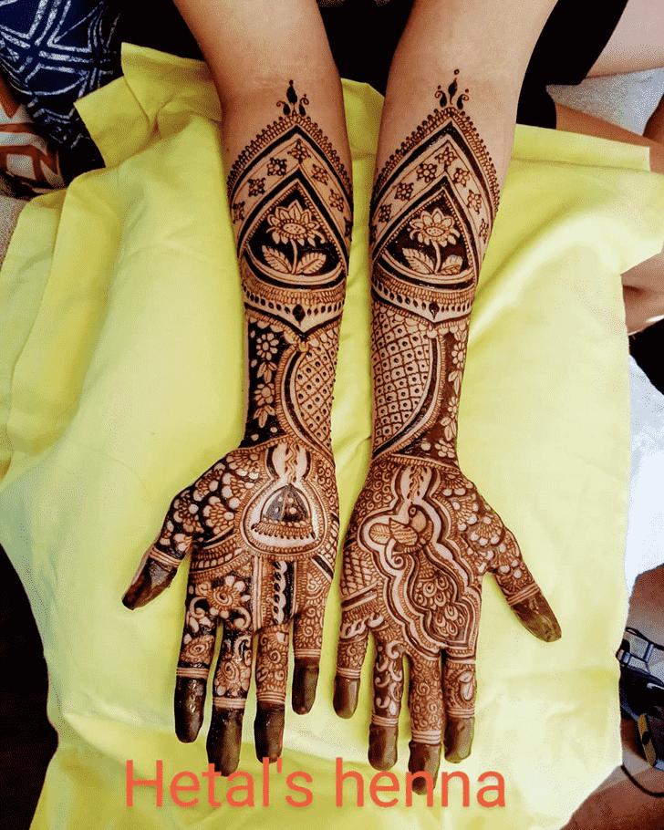 Exquisite Dulhan Henna Design