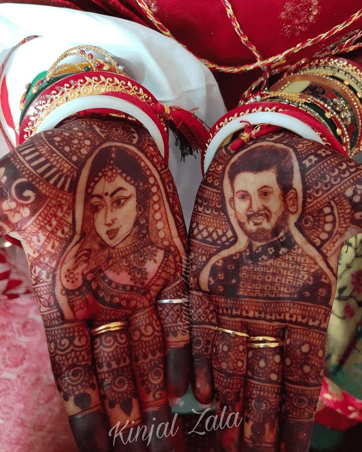 Fine Dulhan Henna Design