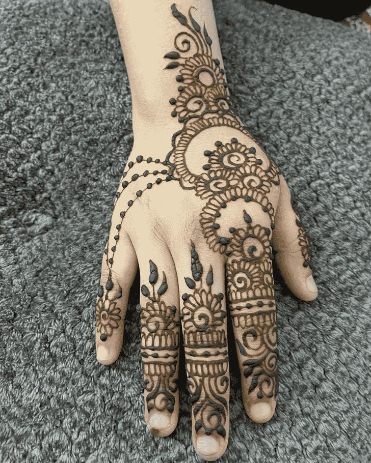 Good Looking Dulhan Henna Design