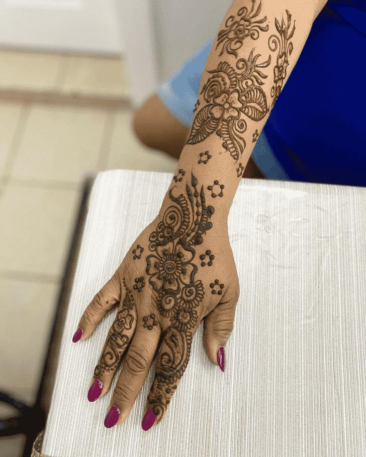 Awesome Dulhan Henna Design