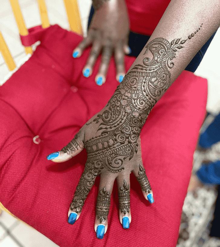 Ideal Dulhan Henna Design