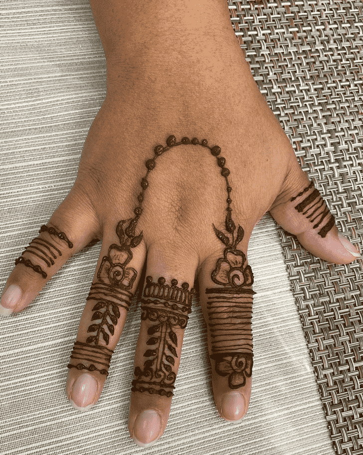 Marvelous Dulhan Henna Design