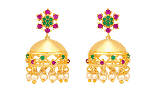 Earrings Mehndi Design