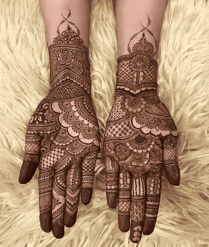 Adorable Easter Henna Design