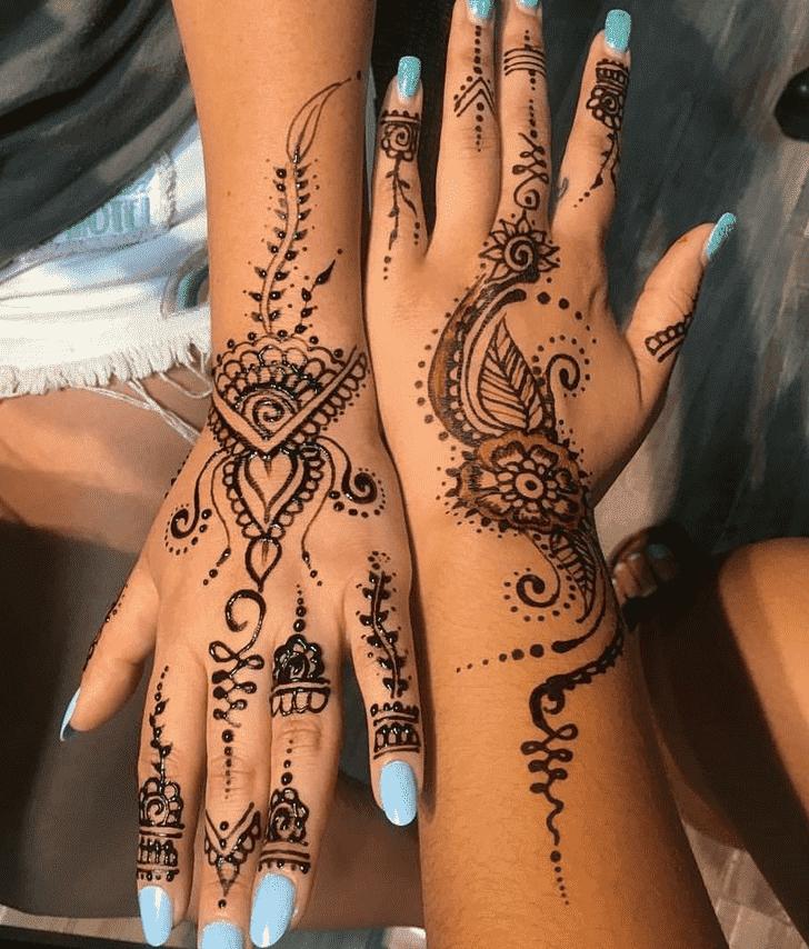 Gorgeous Easter Henna Design