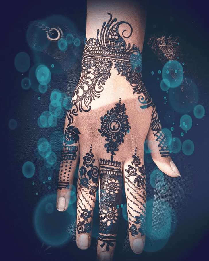 Angelic Easy Henna Design
