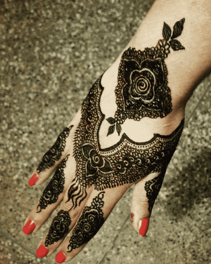 Beauteous Easy Henna Design