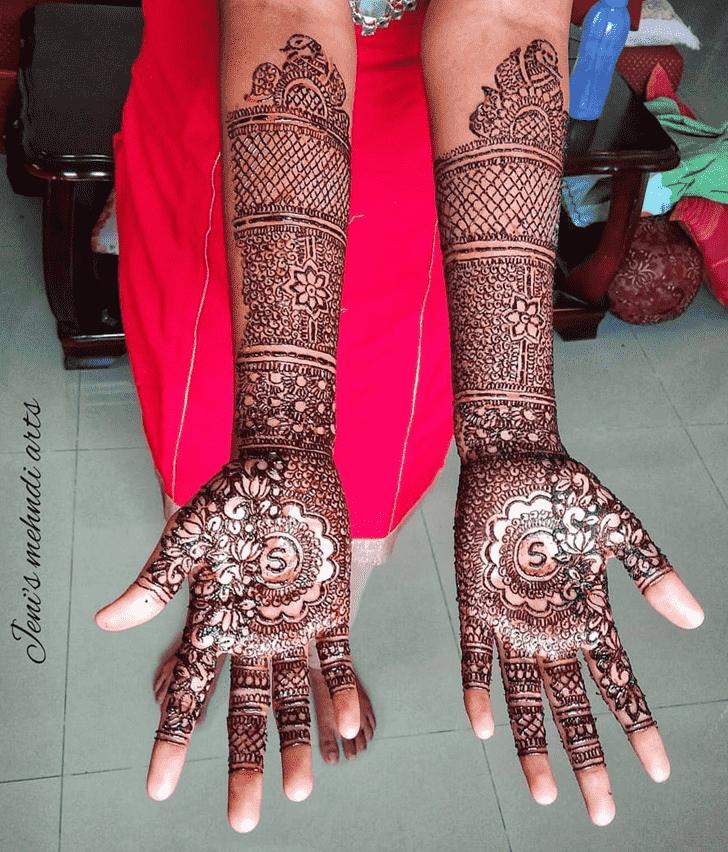 Captivating Egyptian Henna Design