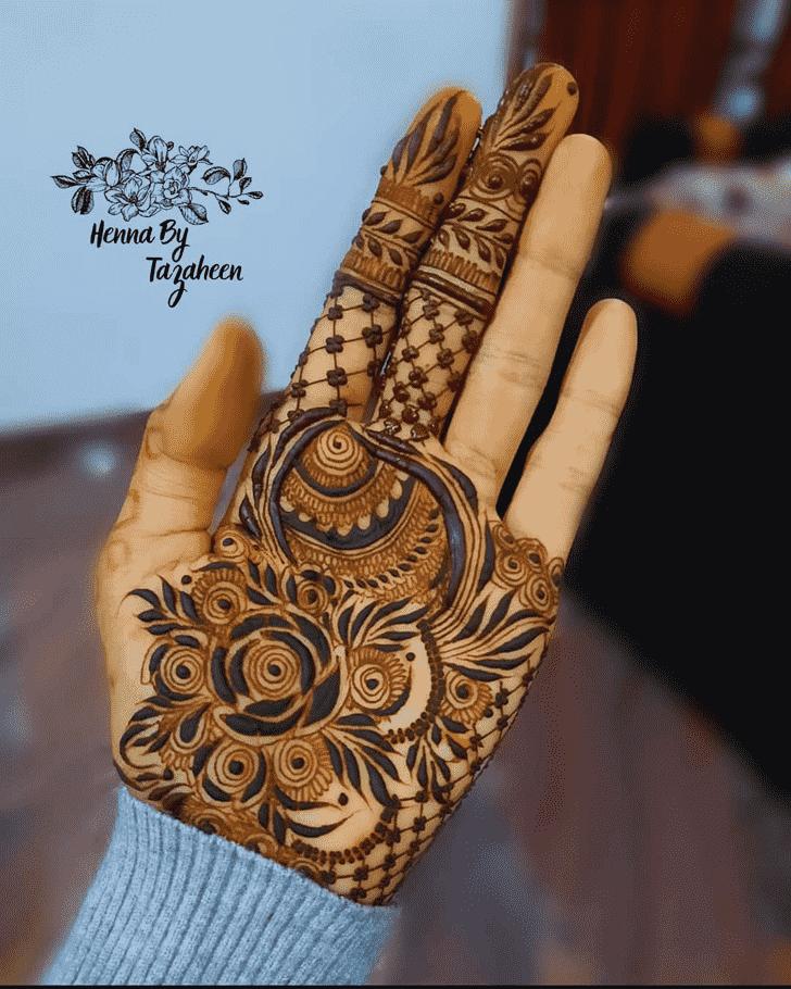Delightful Egyptian Henna Design