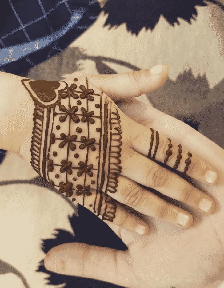 Excellent Egyptian Henna Design