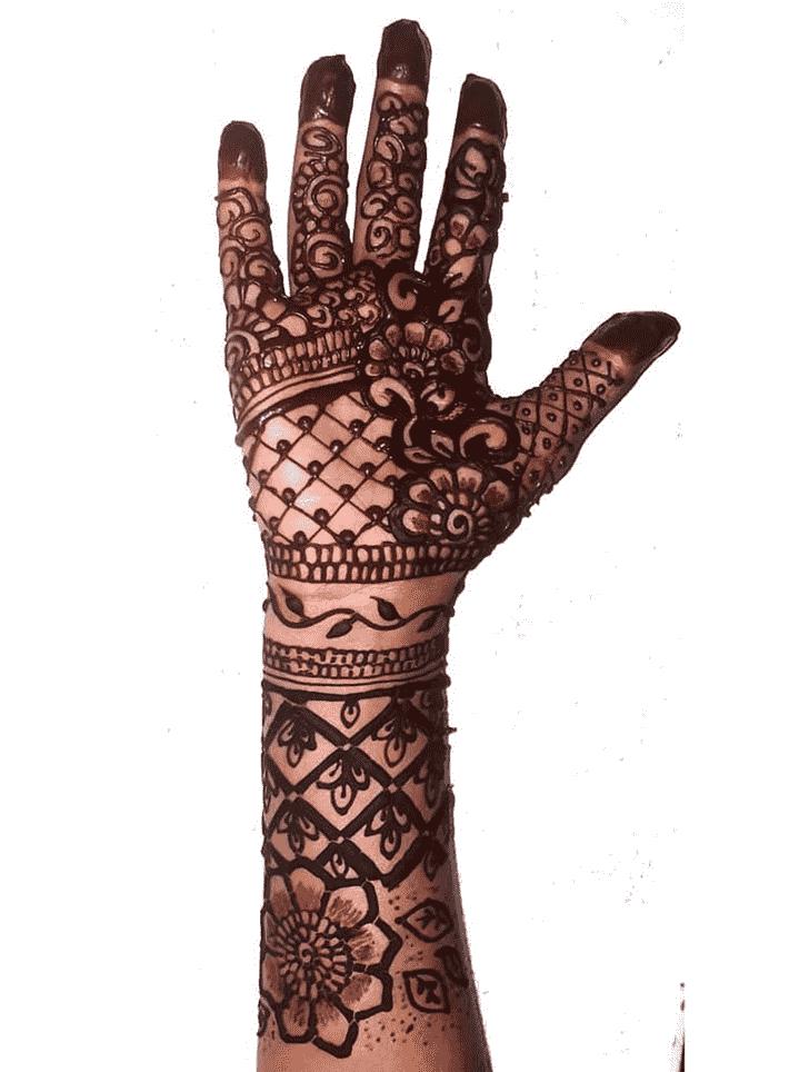 Good Looking Egyptian Henna Design