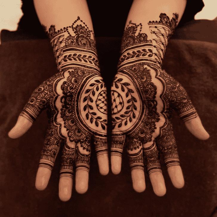 Marvelous Egyptian Henna Design