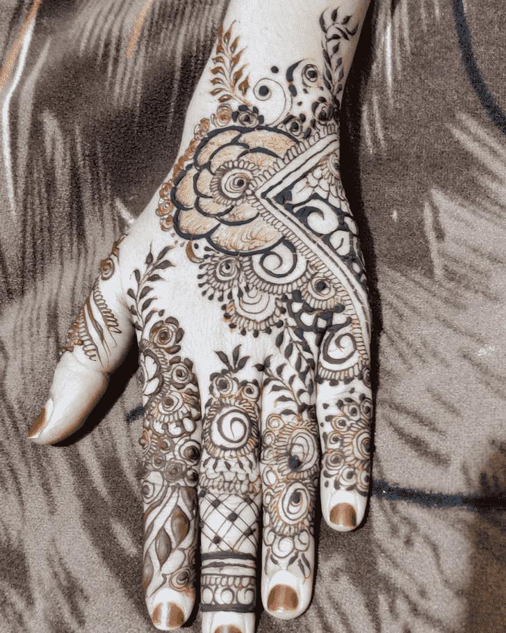 Pleasing Egyptian Henna Design