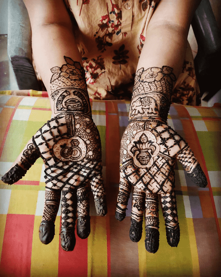 Radiant Egyptian Henna Design