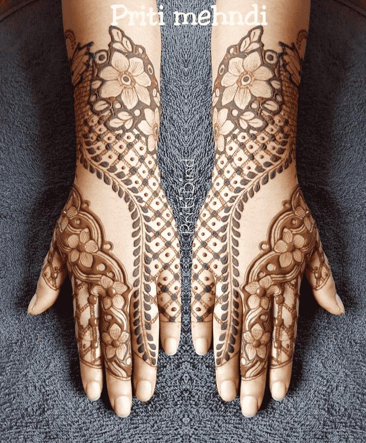 Alluring EID Henna Design