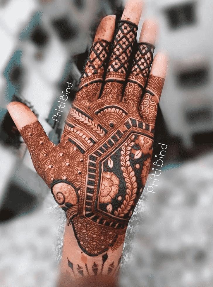 Angelic EID Henna Design
