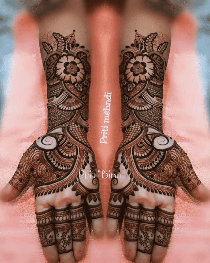 Appealing EID Henna Design