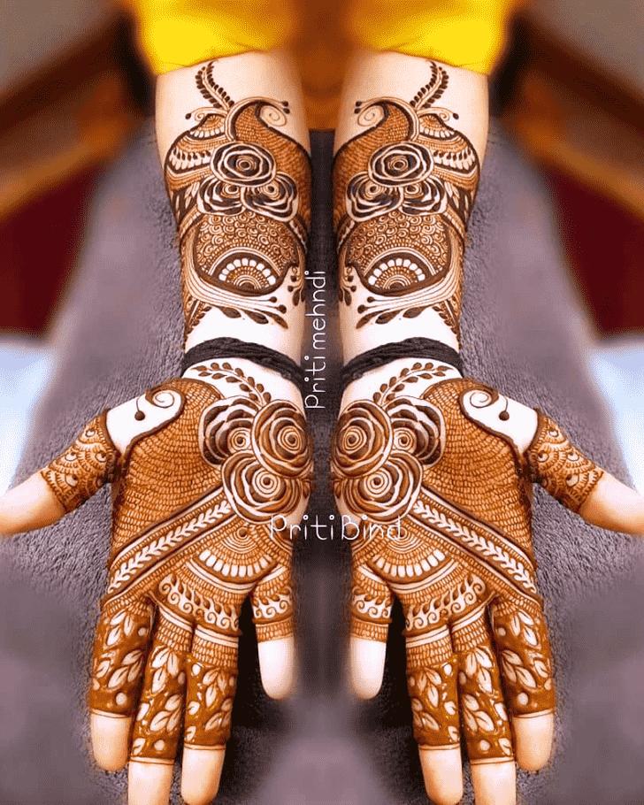 Beauteous EID Henna Design