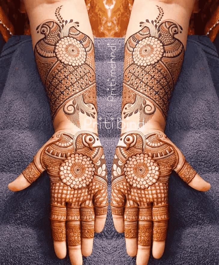 Bewitching EID Henna Design