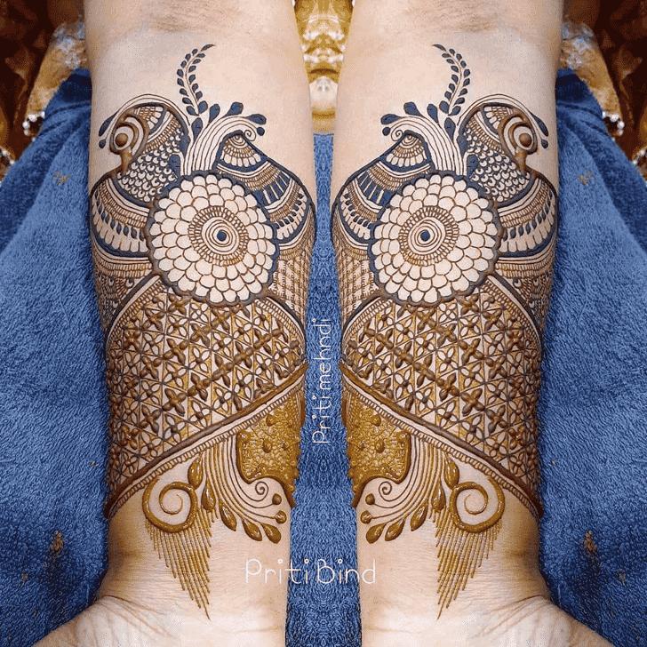 Captivating EID Henna Design