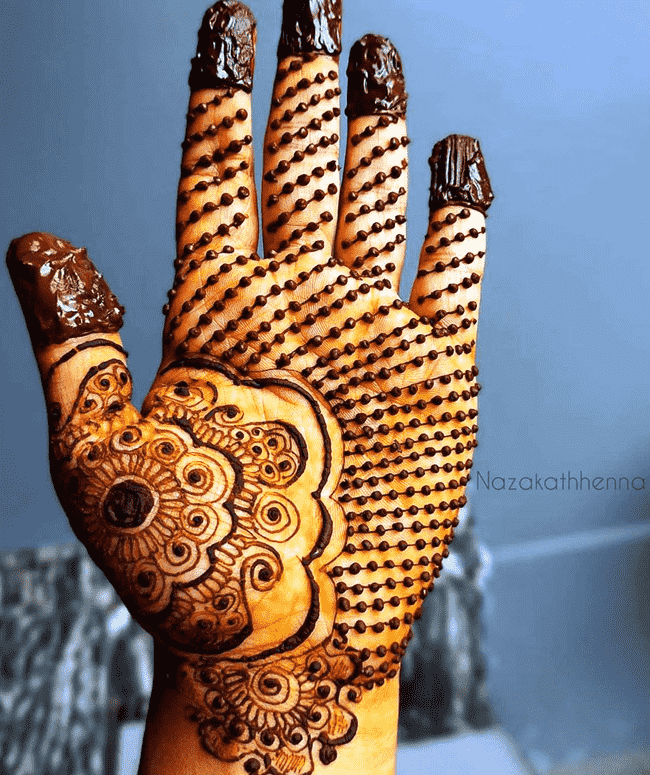 Admirable Ekadashi Mehndi Design