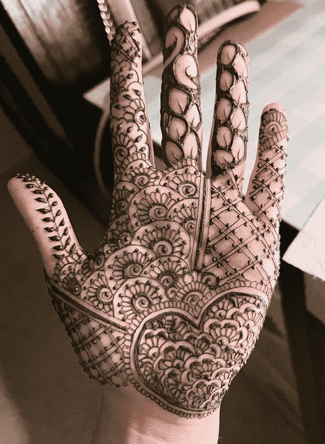 Alluring Ekadashi Henna Design