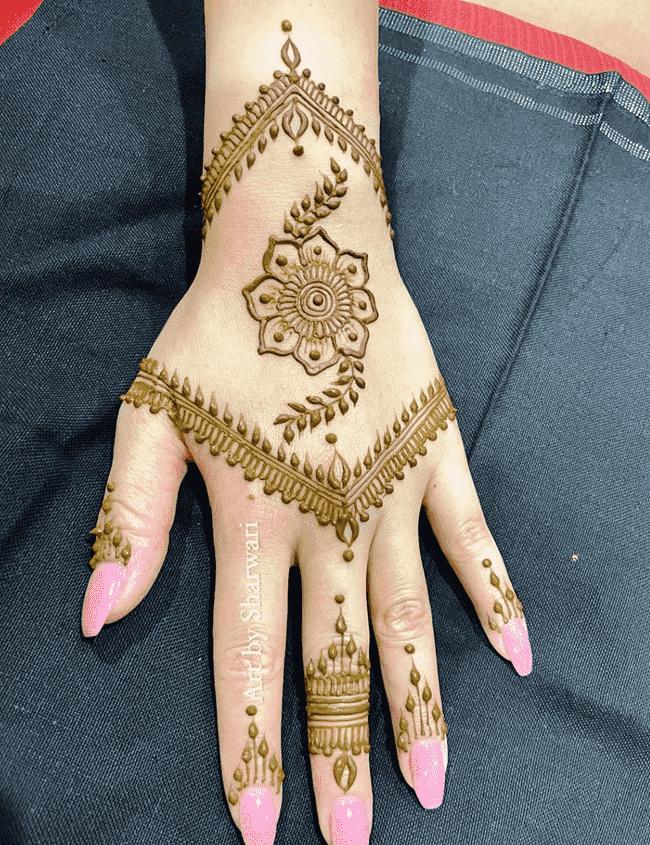 Beauteous Ekadashi Henna Design