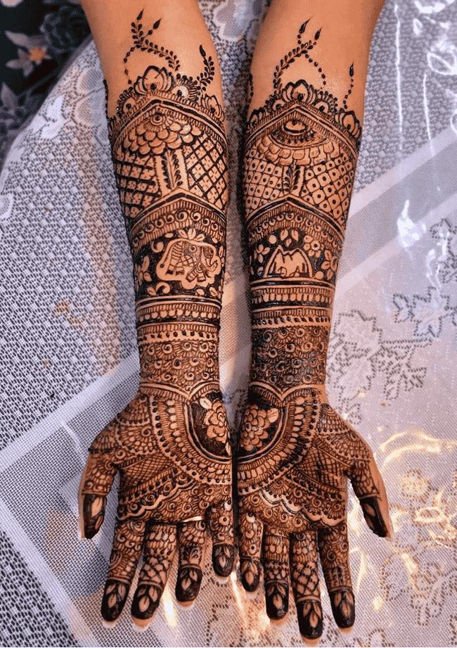Bewitching Ekadashi Henna Design