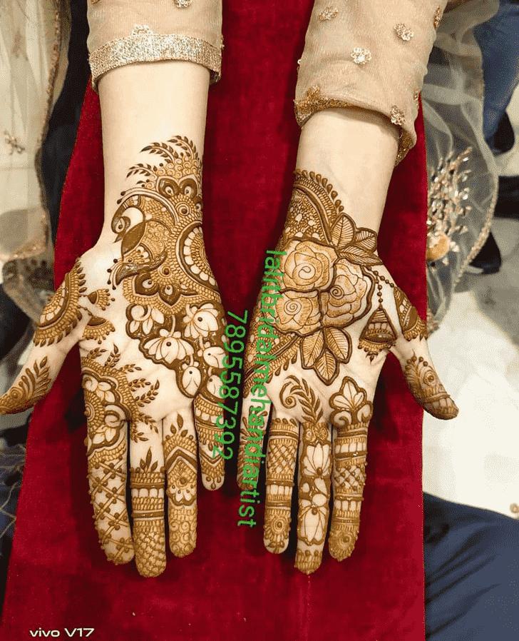 Appealing Epic Henna design
