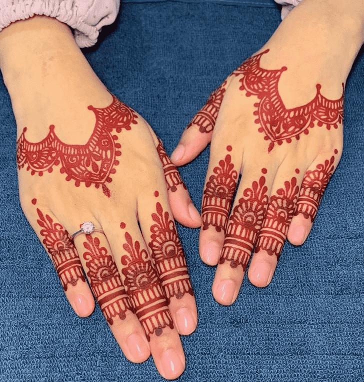 Adorable Faisalabad Henna Design