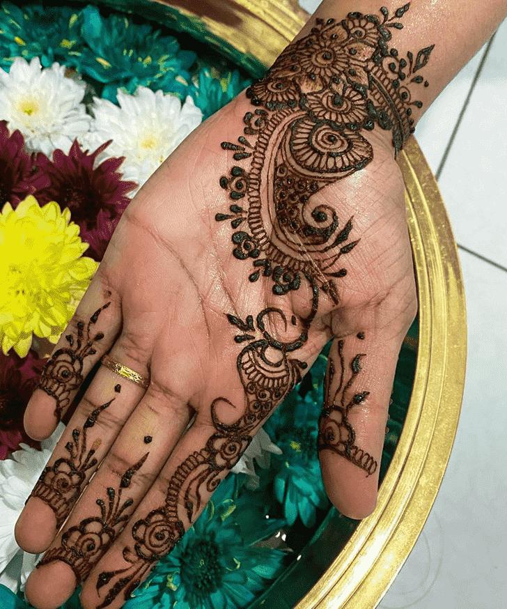 Admirable Faridabad Mehndi Design