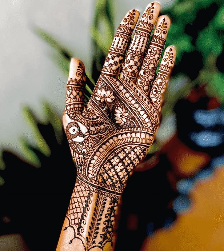 Angelic Faridabad Henna Design